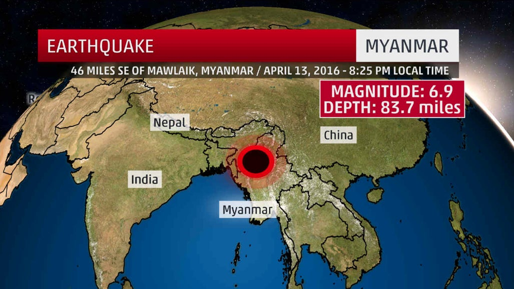 Powerful Earthquake Hits Myanmar But No Deaths Reported The Day
