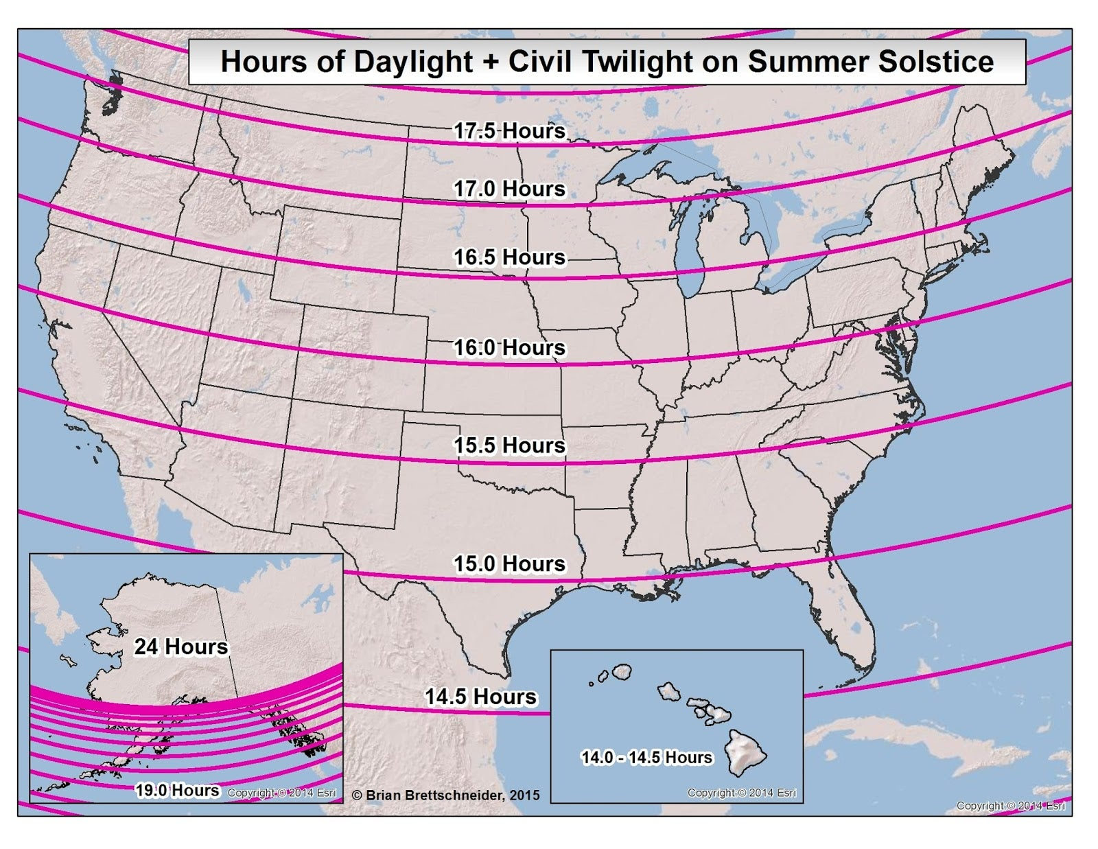 How Alaskans Cope With Two Months Of AllDay Daylight The - Time change map usa