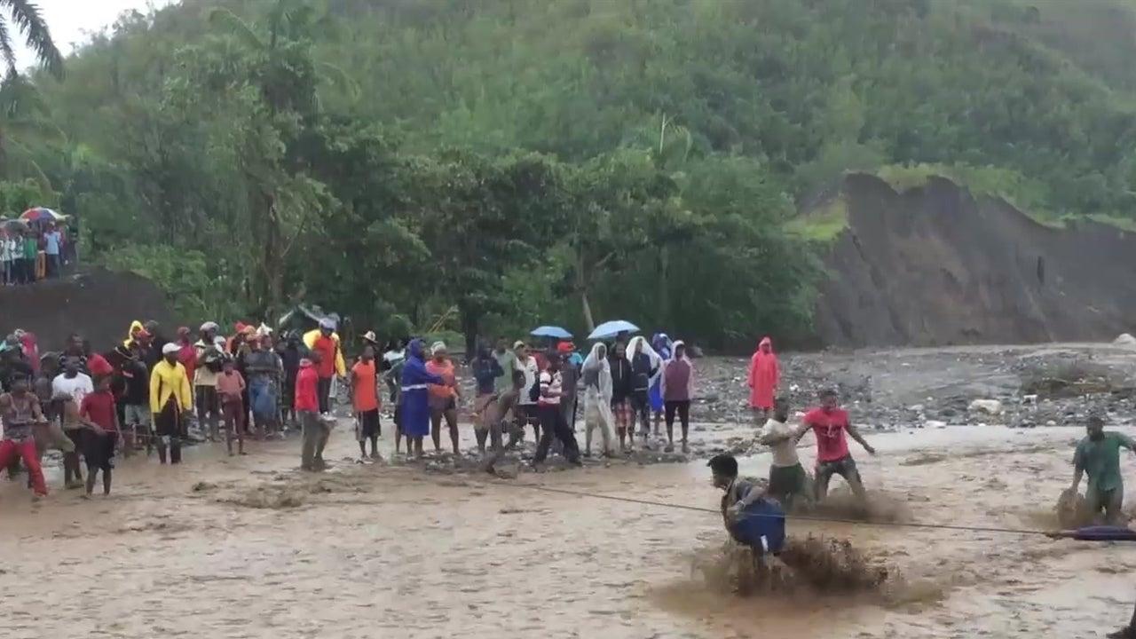 Vital Haitian Bridge Collapses During Hurricane Matthew