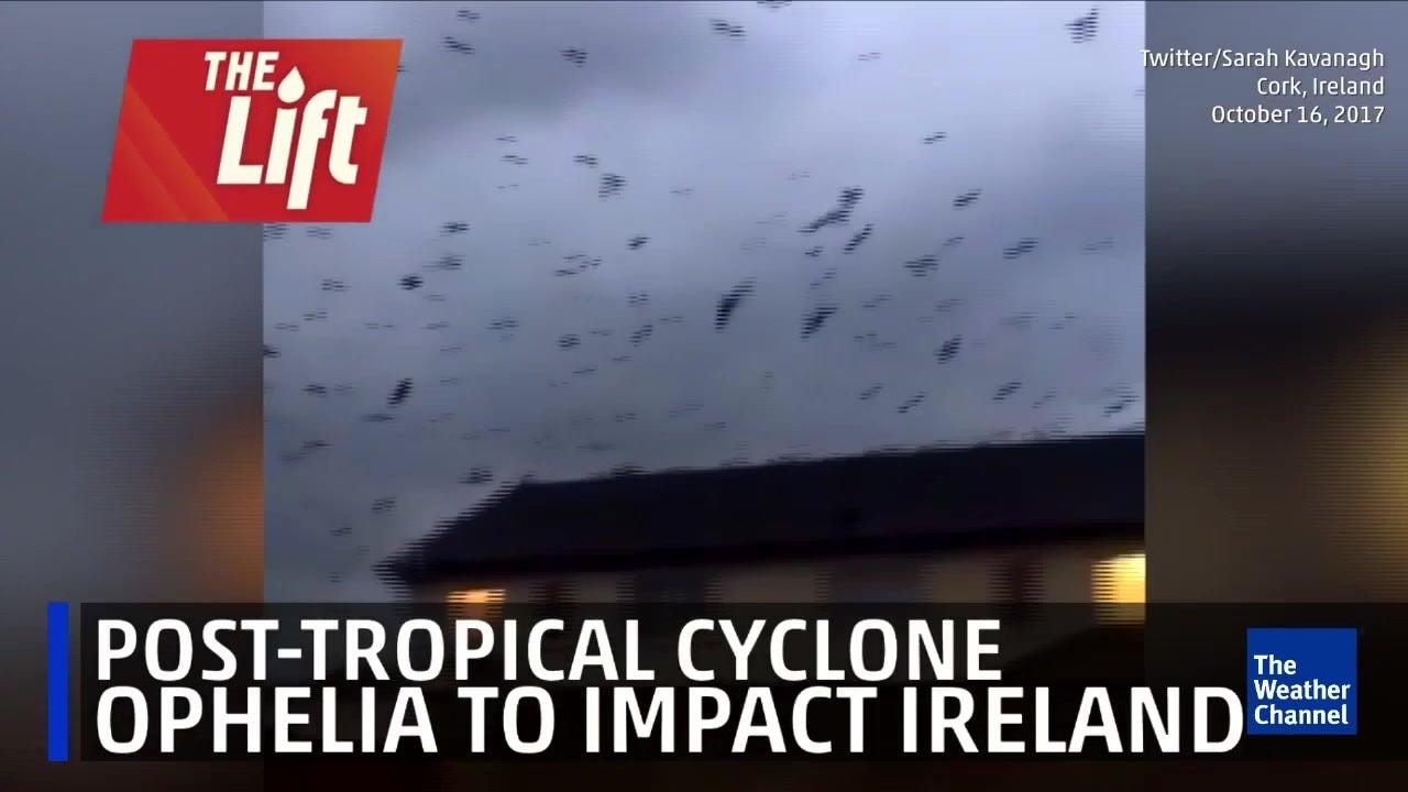 Ophelia set to impact Ireland
