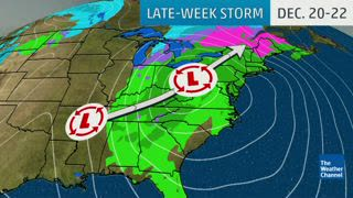 Late-Week Storm Could Make for Messy Travel