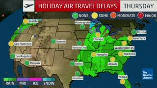 Christmas Travelers Will Likely Encounter Delays