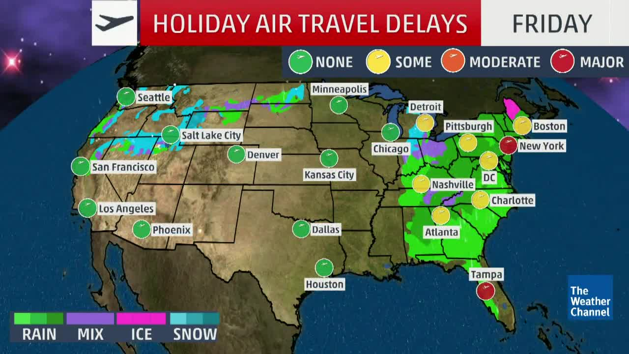 Will Weather Affect Your Christmas Travel?