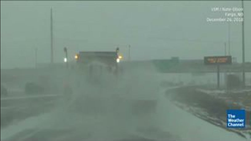 Driven By Winter Wind >> Winter Storm Eboni Spreading Wind Driven Snow Across The Plains And