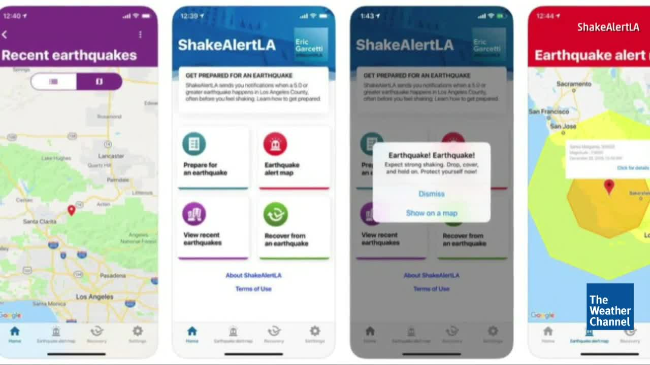 Los Angeles Launches Early Warning App for Earthquakes