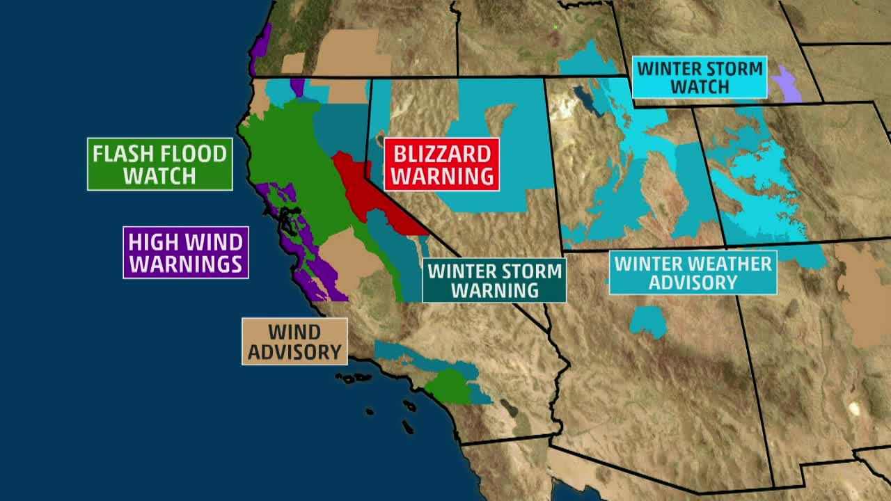 West Coast Parade of Storms Not Over Yet