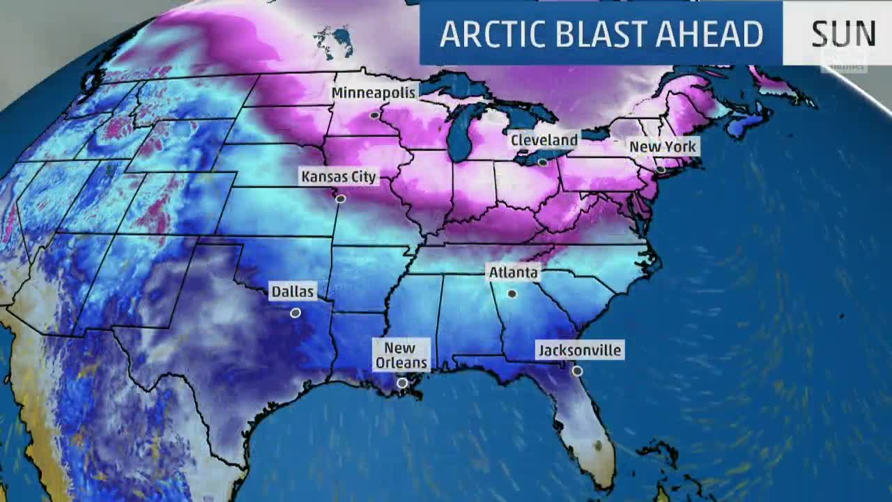 Arctic Blast on the Way for Much of Country