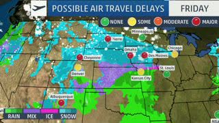 Winter Storm Harper Could Mean a Travel Nightmare