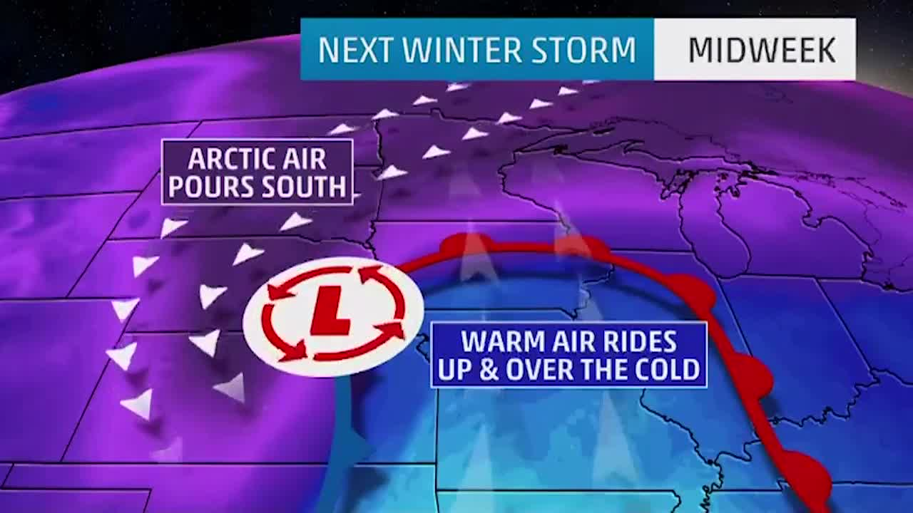 Another Snowstorm on Tap for this Week