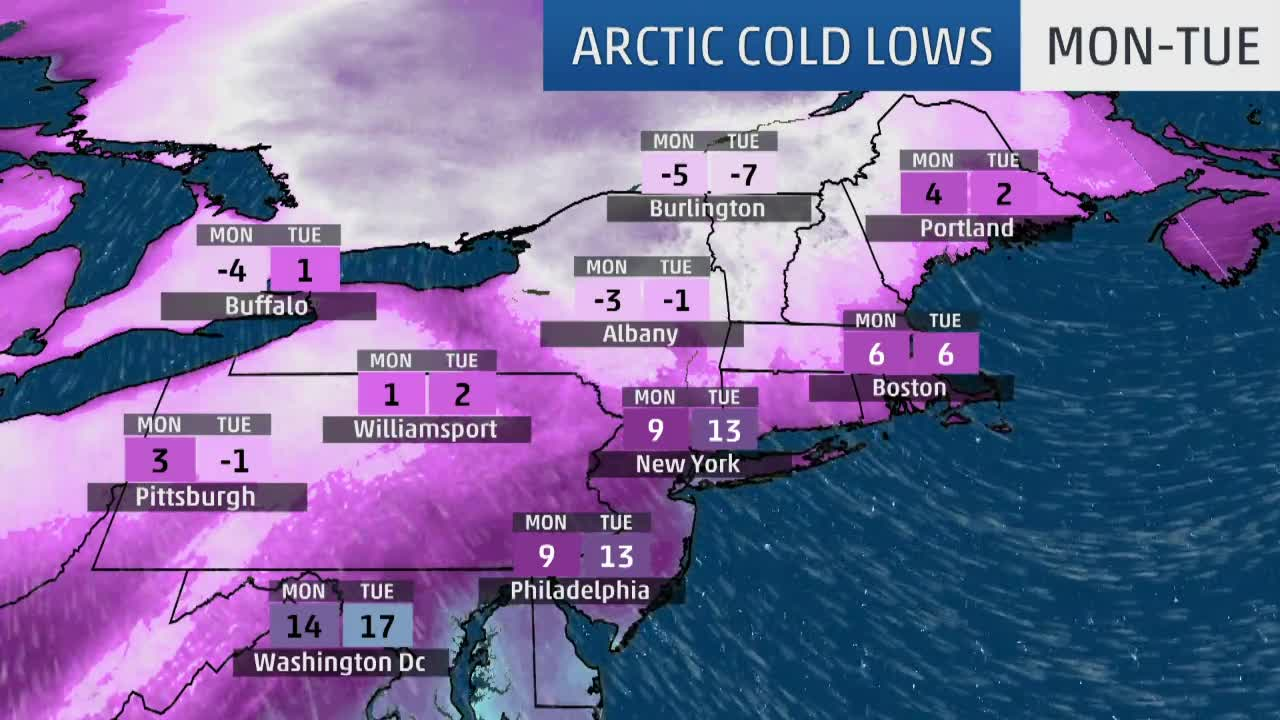 Harper Snow and Ice Wrapping Up in Northeast