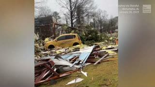 EF-2 Tornado Causes Severe Damage in Alabama