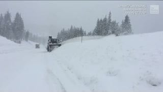 Sierra Nevada Snowpack is Well Above Average