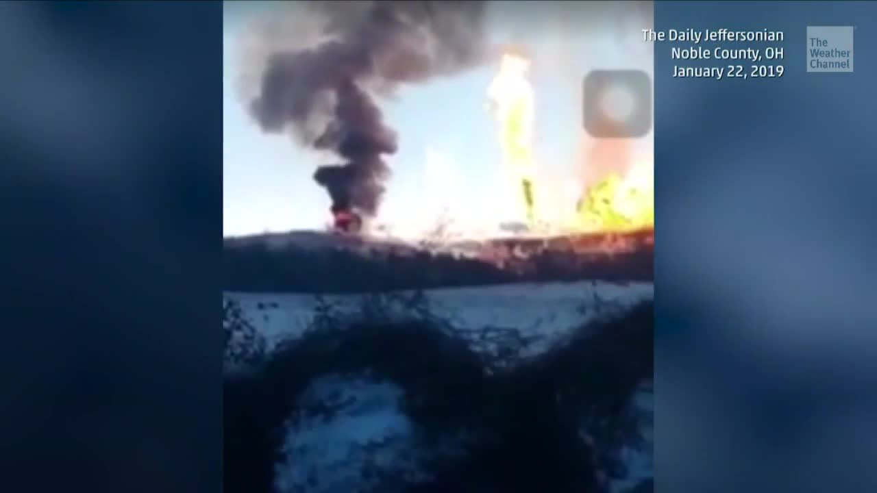 Ohio Neighborhood Rocked by Gas Pipeline Explosion
