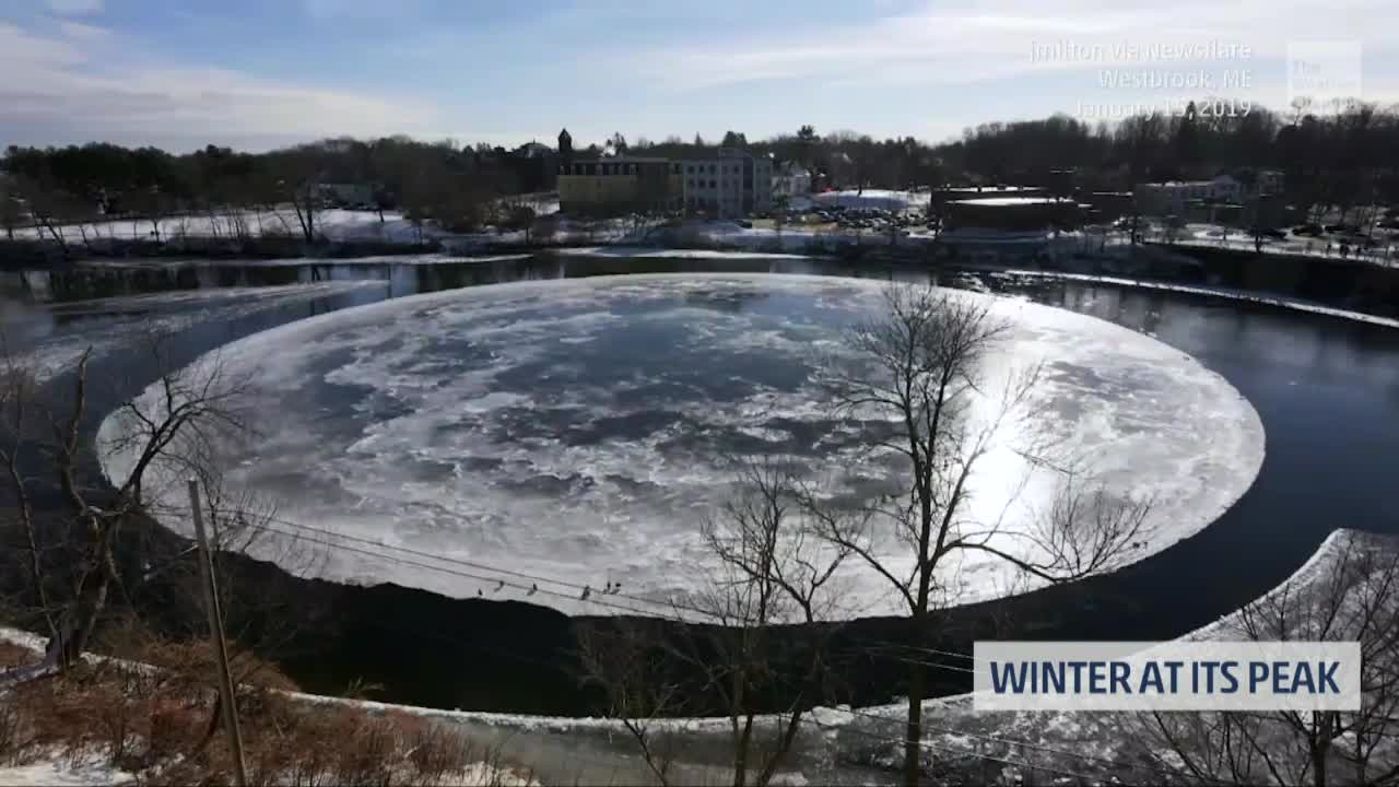 Winter is Hitting its Peak in the Eastern Half of the United States