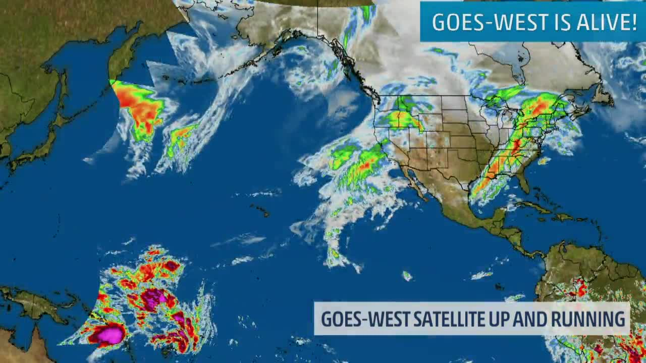 New GOES-17 Satellite Could Help with Fires, Flight Delays & Storms
