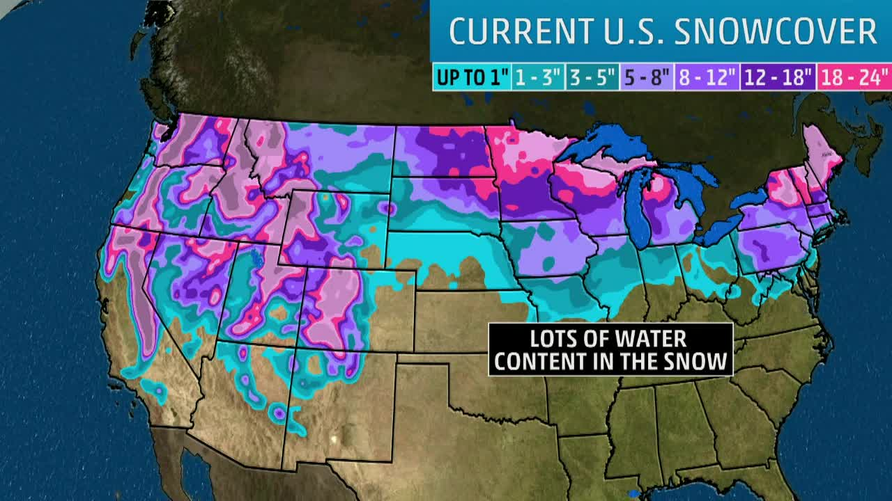 Spring Flooding Could Be Bad This Year