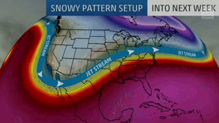 Snowy Pattern Continues in the Next Week