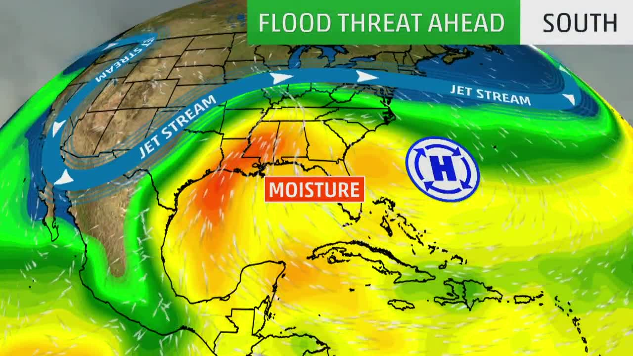 Soggy Week Ahead for the Southeast