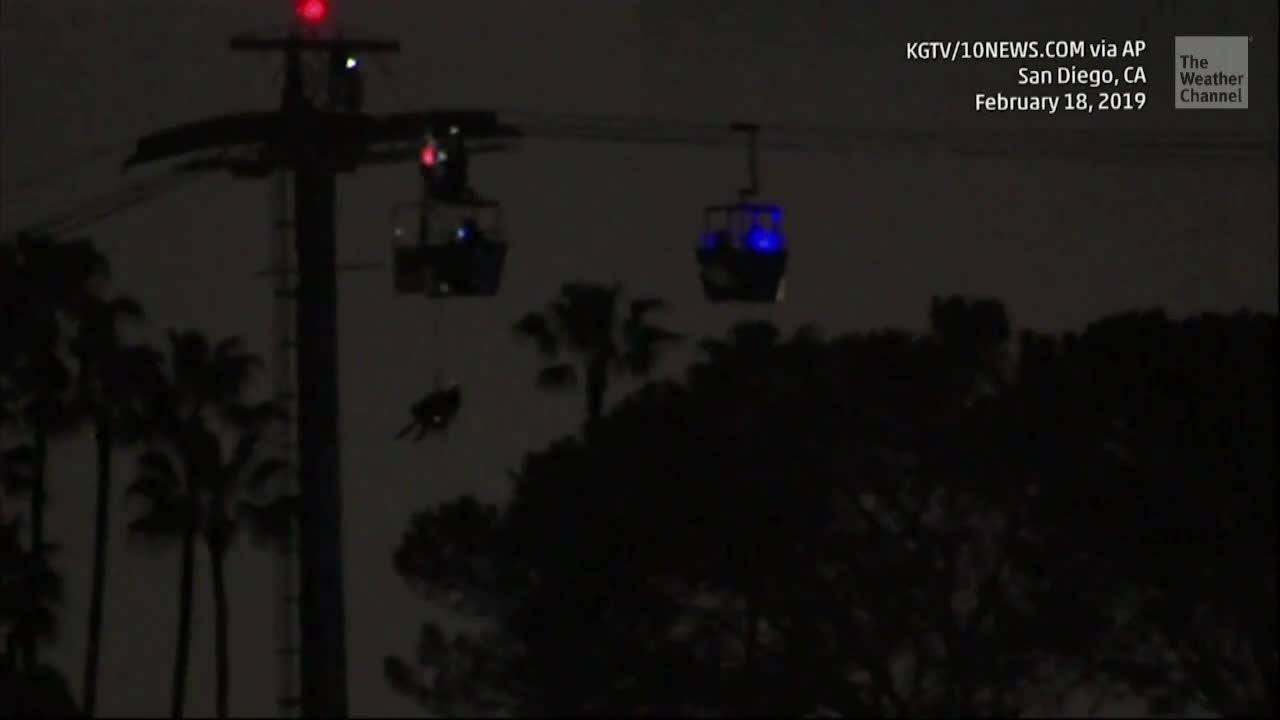 16 Rescued After Wind Gust Breaks Ride at SeaWorld San Diego
