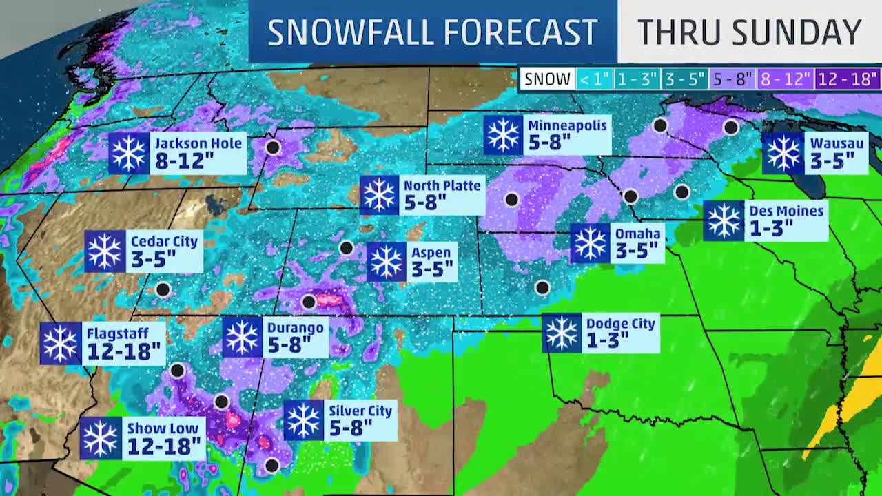 Winter Storm Quiana Forecast to Bring Blizzard Conditions to Northern Plains