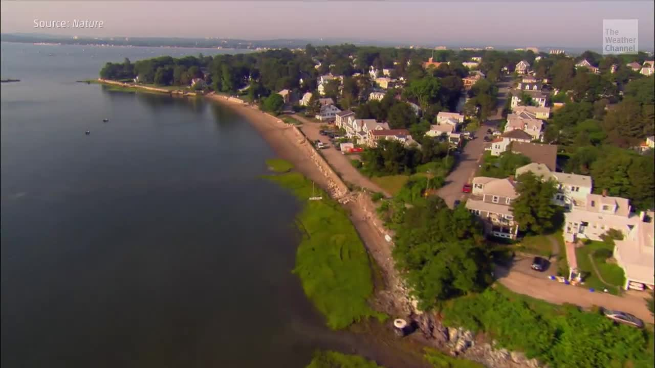 Mid-Atlantic Land Sinks as Sea Levels Rise, Study Finds