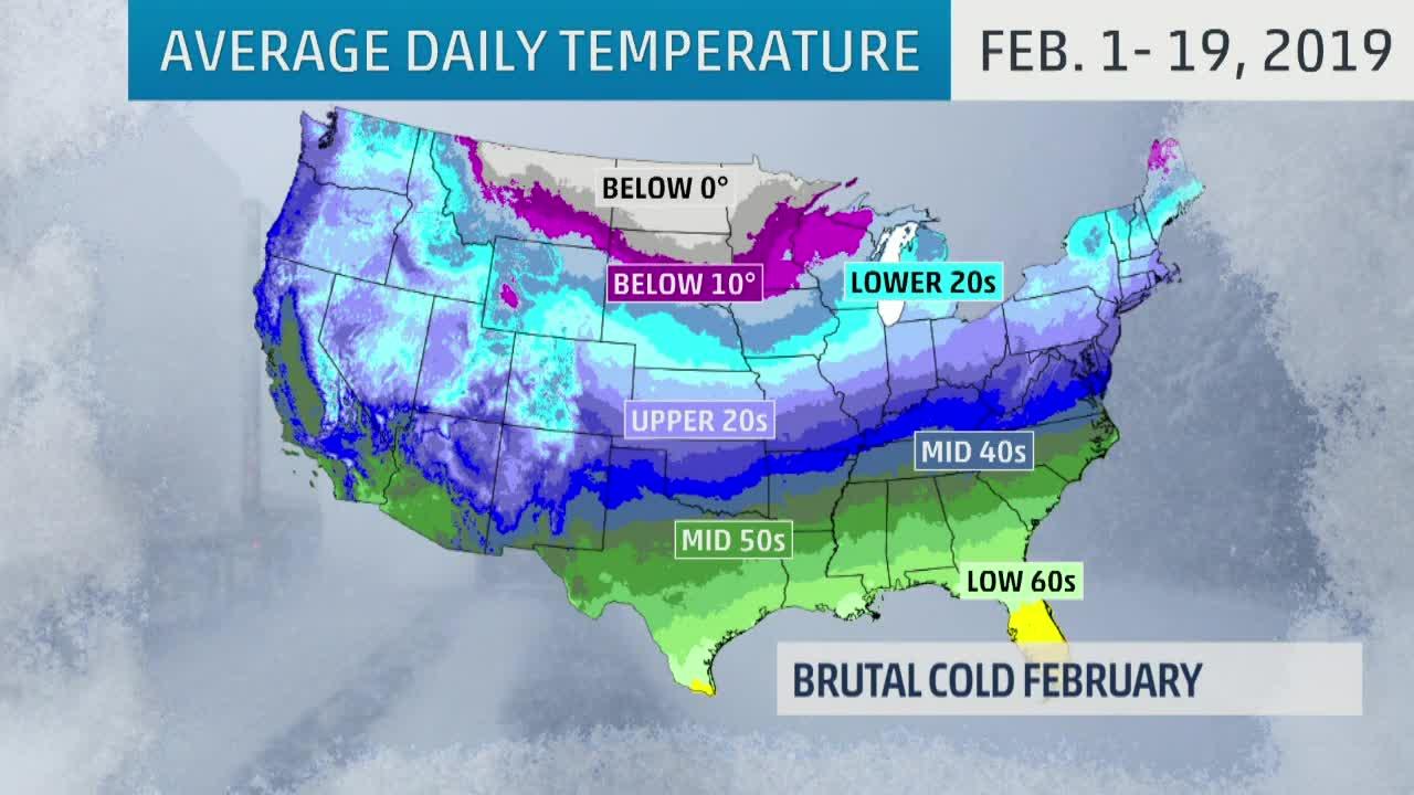 A Very Frigid February