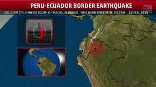 7.5 Magnitude Earthquake Hits Ecuador