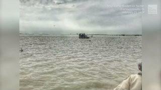 Cargo Plane Crashes into Bay Near Houston, Texas, 3 Dead