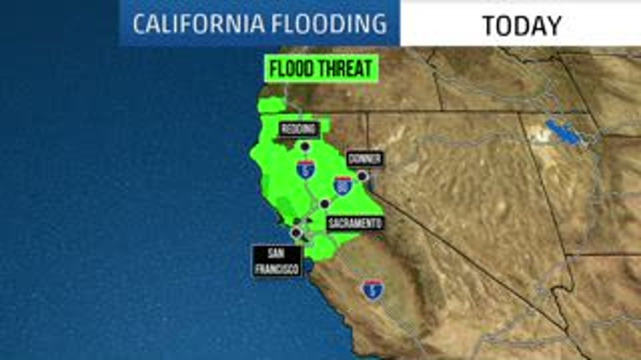 Map Of California Flooding.The Weather Channel