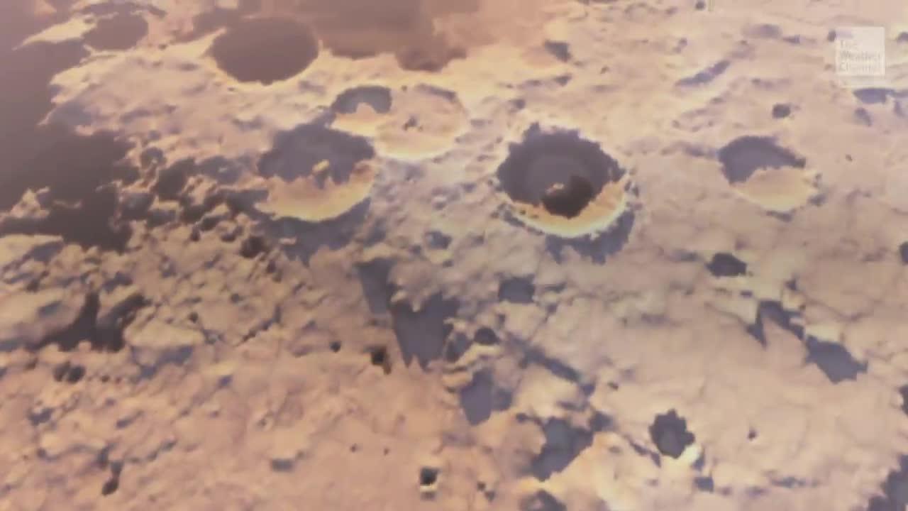 Evidence Mars Once Had Underground Lake System