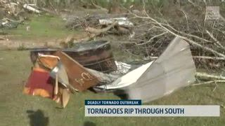 Beauregard, Alabama, Resident Describes The Moments Forward of the Tornado's Arrival