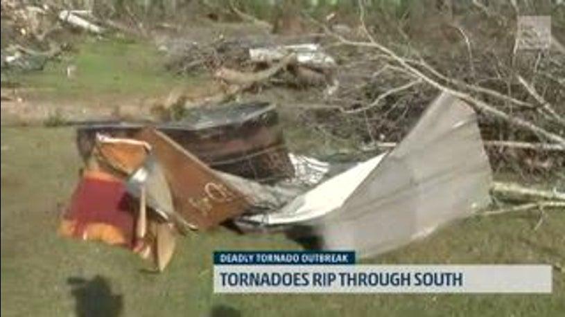 Beauregard, Alabama, Resident Describes The Moments Forward of the Tornado's Arrival