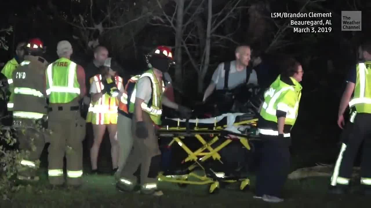 Alabama Tornado Witness Finds Heartbreaking Scene
