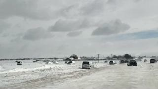 Colorado Road Looks Post-Apocalyptic After Winter Storm Ulmer