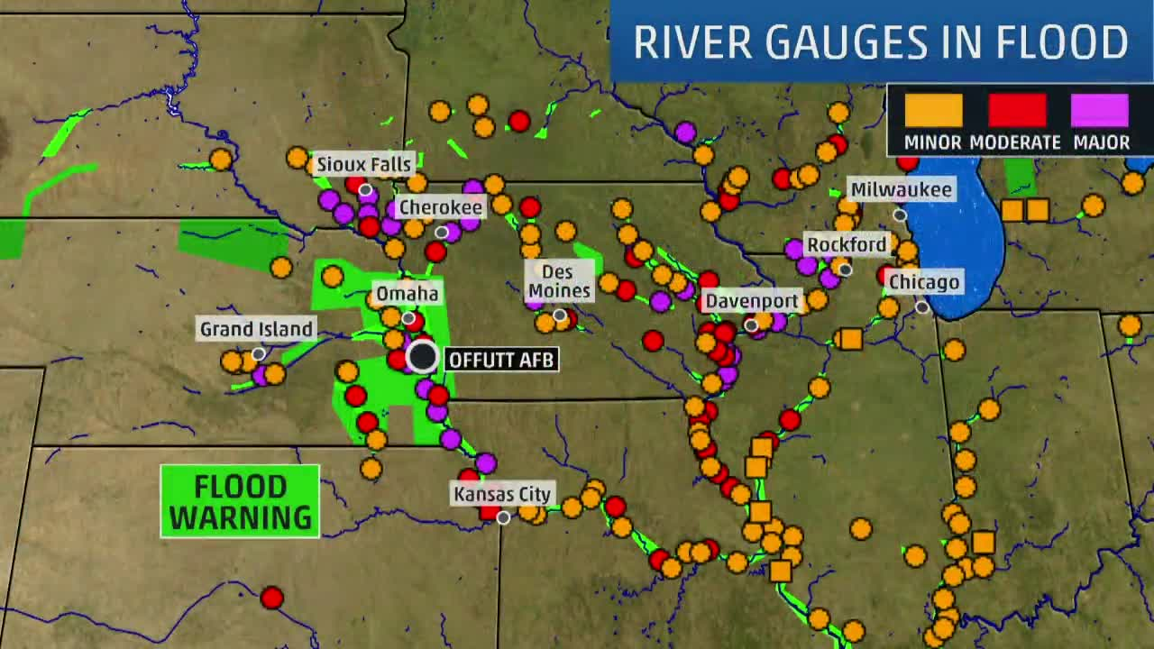 River Flooding Sets Records in Midwest