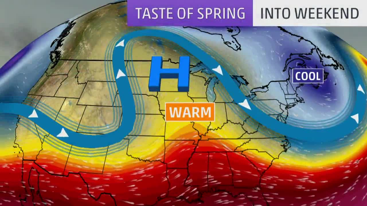 Warm Temperatures for First Weekend of Spring