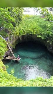 Sparkling Swimming Hole In Samoa