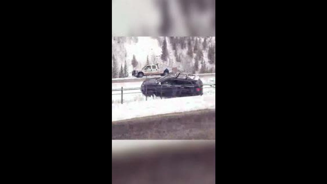 Snow From Wesley Blocks Road, Causes Accidents In Colorado | The