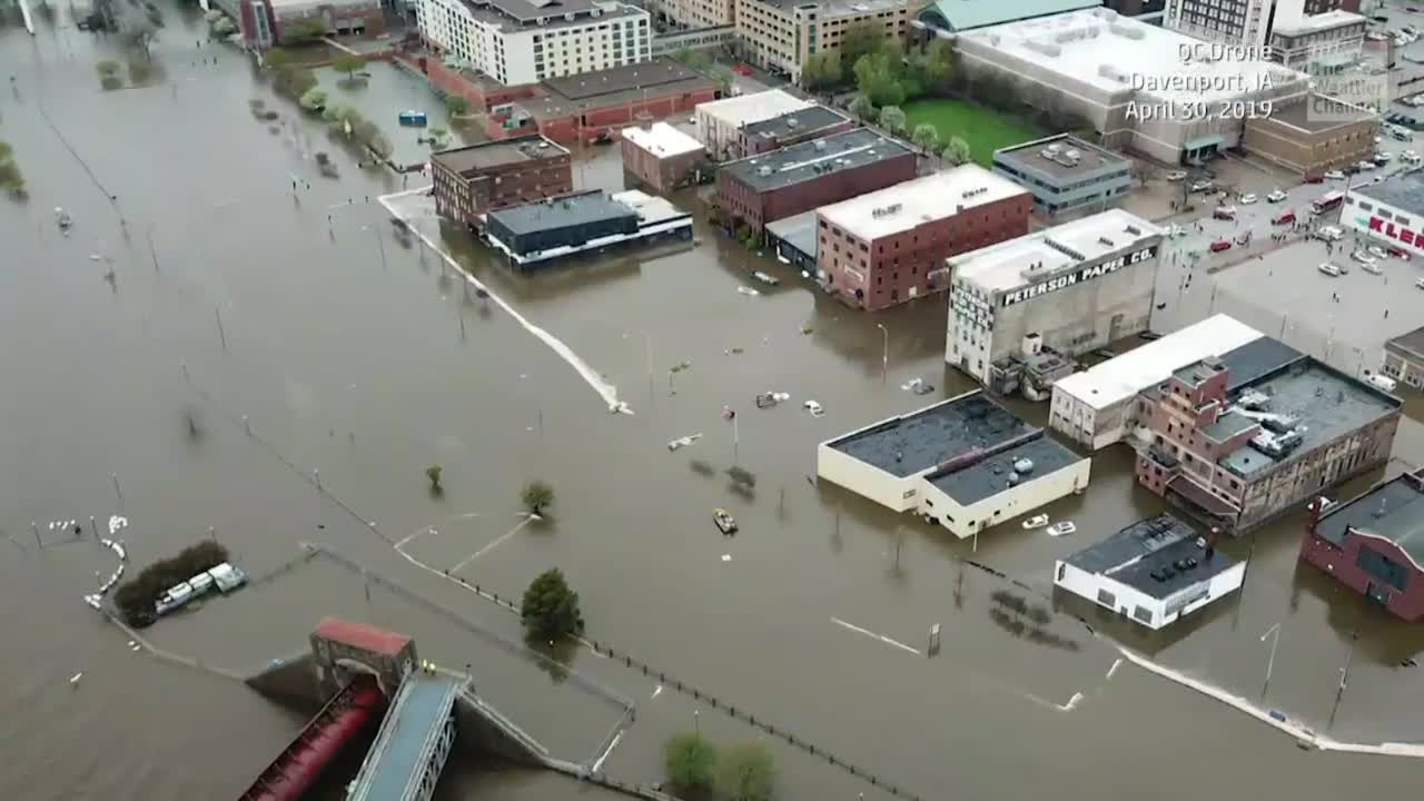 Davenport, Iowa, Devastated by Flash Flood Tuesday
