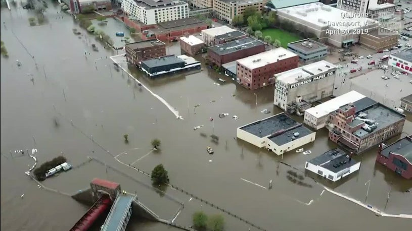 Davenport, Iowa, Devastated by Flash Flood Tuesday