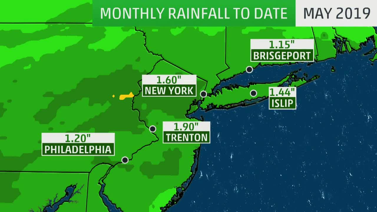 It's Been Raining for Over Two Weeks Straight in the Northeast