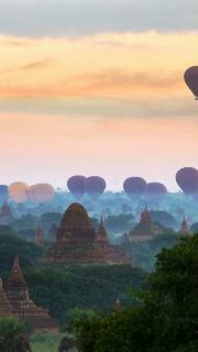Gorgeous Golden Hour Timelapse Of Bagan