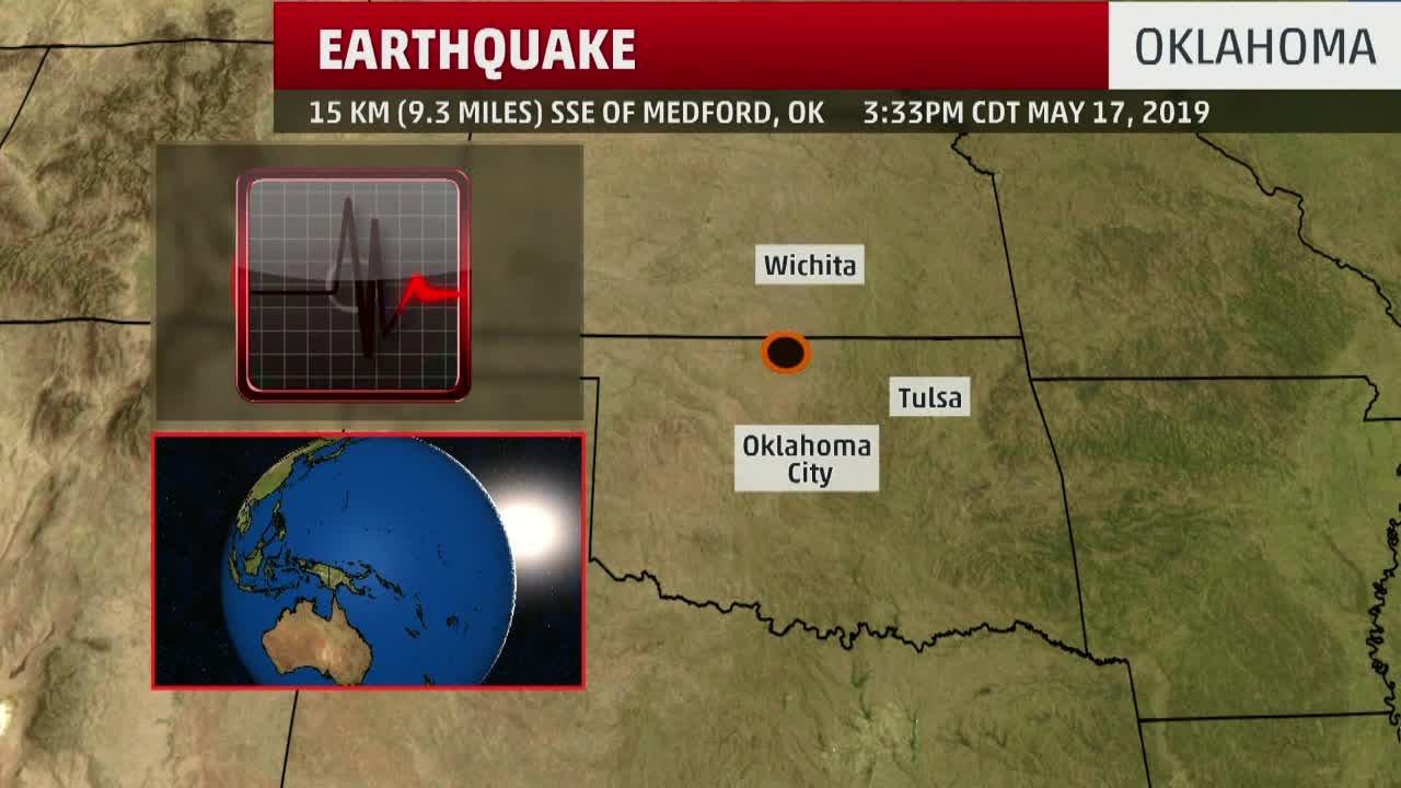 4.4 Magnitude Earthquake in Oklahoma
