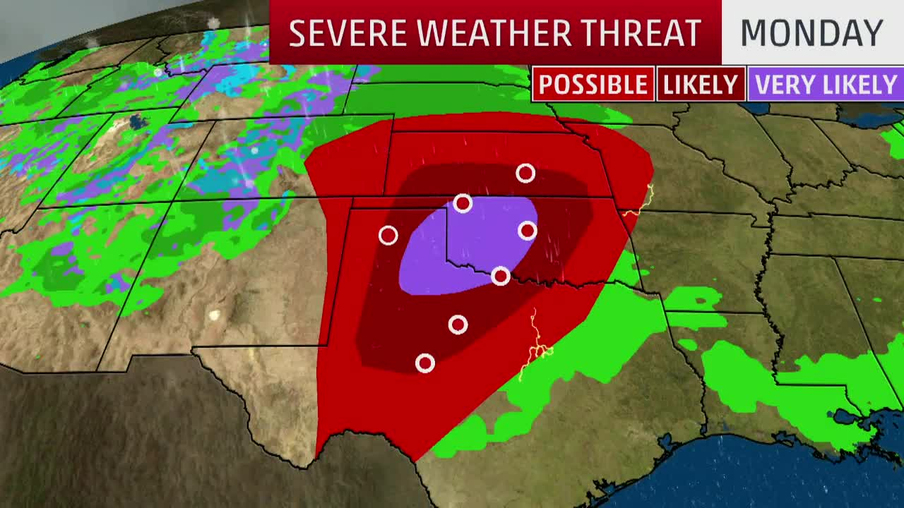 Severe Threat and Tornado Threat Continues Until Midweek