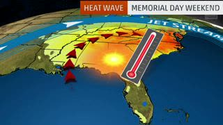 Record Heat Possible in South for Holiday Weekend