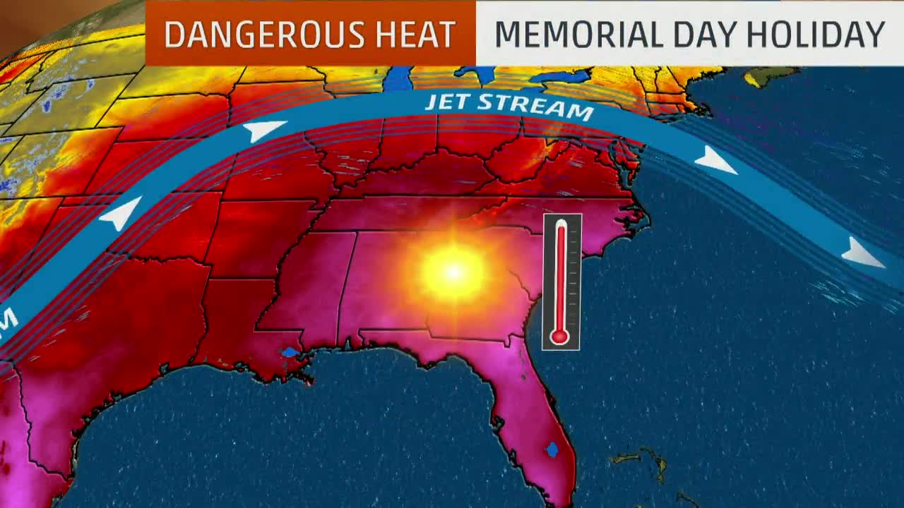 Record-Breaking Temperatures Possible in Southeast This Holiday Weekend