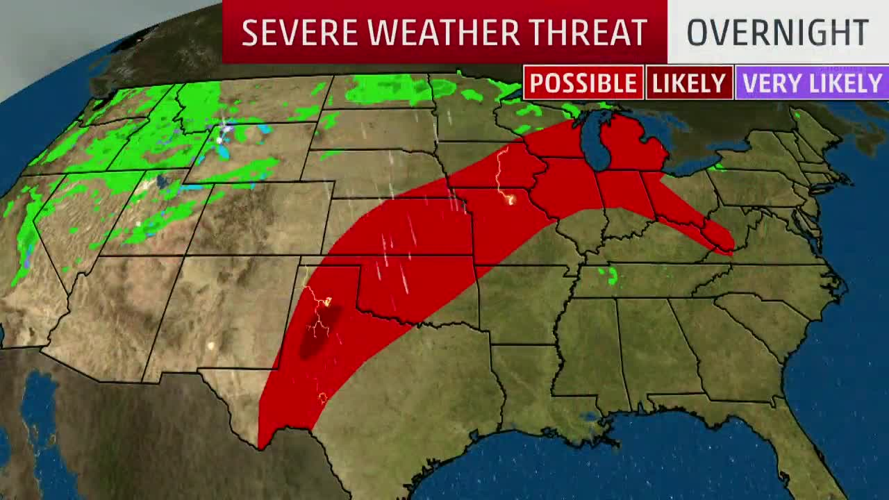 Severe and Flooding Threat for Memorial Day Weekend