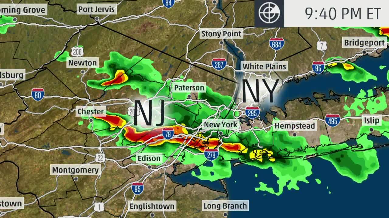 rare tornado warning issued for new york city