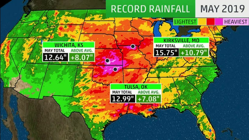 More Rain Means More Flooding for Already Saturated Areas in the Plains