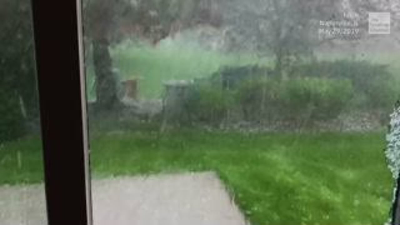Hailstorm Hits Too Close to Home